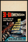 "Movie Posters:Science Fiction, It Came From Outer Space (Universal International, 1953). WindowCard (14"" X 21""). Science Fiction.. ..."