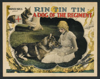 "A Dog of the Regiment (Warner Brothers, 1927). Lobby Cards (3) (11"" X 14""). Drama. ... (Total: 3 Items)"