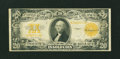 Large Size:Gold Certificates, Fr. 1187 $20 1922 Gold Certificate Fine....