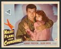 "Movie Posters:War, Night Plane from Chungking (Paramount, 1943). Lobby Card Set of 8(11"" X 14""). War.. ... (Total: 8 Items)"