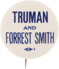 Political:Pinback Buttons (1896-present), Harry S Truman: One of the Best Truman Word Pins....