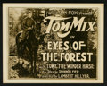 """Movie Posters:Western, Eyes of the Forest (Fox, 1923). Lobby Card Set of 8 (11"""" X 14""""). Western.. ... (Total: 8 Items)"""