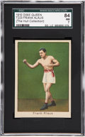 Boxing Cards:General, 1910 T223 Dixie Queen Frank Klaus SGC 84 NM 7....