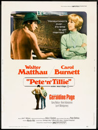 """Pete 'n' Tillie Lot (Universal, 1973). Posters (2) (30"""" X 40""""). Comedy. ... (Total: 2 Items)"""