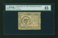 Colonial Notes:Continental Congress Issues, Continental Currency February 17, 1776 $8 PMG Choice Extremely Fine45....