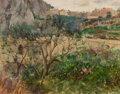 Fine Art - Painting, American:Antique  (Pre 1900), LOUIS RITTER (American, 1854-1892). View of Capri, 1889. Oilon canvas. 10-3/4 x 13 inches (27.3 x 33.0 cm). Signed, dat...