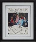 Music Memorabilia:Autographs and Signed Items, Three Dog Night Signed Sheet Music Cover....