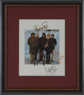 Music Memorabilia:Autographs and Signed Items, Buffalo Springfield Autographed Band Photo....
