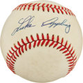 Autographs:Baseballs, Luke Appling Single Signed Baseball. ...