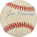 Autographs:Baseballs, Joe Sewell Single Signed Baseball. ...