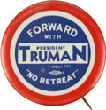 Political:Pinback Buttons (1896-present), Harry S Truman: One of the Nicest 1948 Slogan Varieties....