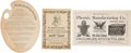 Political:Small Paper (1896-present), Woman's Suffrage: Forty-one Advertising Novelties....