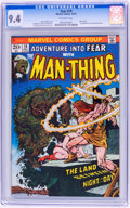 Bronze Age (1970-1979):Science Fiction, Fear #19 Man-Thing (Marvel, 1973) CGC NM 9.4 Off-white pages....