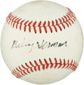 Autographs:Baseballs, Billy Herman Single Signed Baseball....