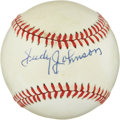 Autographs:Baseballs, Judy Johnson Single Signed Baseball. ...