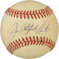 "Autographs:Baseballs, Jim ""Catfish"" Hunter Single Signed Baseball. ..."