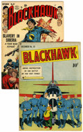 Golden Age (1938-1955):Superhero, Blackhawk #28 and 57 Group (Quality, 1949-52) Condition: Average VG+.... (Total: 2 Comic Books)