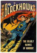 Golden Age (1938-1955):War, Blackhawk #48 (Quality, 1952) Condition: FN+....