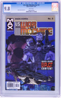 Modern Age (1980-Present):Superhero, U.S. War Machine CGC-Graded Group (Marvel, 2001-03) Condition: CGC NM/MT 9.8 White pages.... (Total: 8 Comic Books)