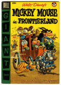 Golden Age (1938-1955):Funny Animal, Dell Giant Comics: Mickey Mouse in Frontierland (Dell, 1956)Condition: VF+....