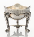Silver Holloware, British:Holloware, A VICTORIAN SILVER DESSERT BOWL ON STAND. Elkington & Co. Ltd,Birmingham, England, 1858-1859. Marks: (lion passant), (ancho...