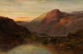 Paintings, ALFRED DE BREANSKI (British, 1852-1928). Ben Lomond. Oil on canvas. 20-1/4 x 30-1/4 inches (51.4 x 76.8 cm). Signed lowe...