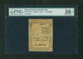 Colonial Notes:Pennsylvania, Pennsylvania October 1, 1773 15s PMG Choice About Unc 58 EPQ....