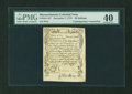 Colonial Notes:Massachusetts, Massachusetts December 7, 1775 36s Contemporary Counterfeit PMGExtremely Fine 40....