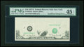 Error Notes:Missing Face Printing (<100%), Fr. 2024-B $10 1977A Federal Reserve Note. PMG Choice ExtremelyFine 45 EPQ.. ...