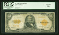 Large Size:Gold Certificates, Fr. 1200a $50 1922 Mule Gold Certificate PCGS Very Good 10....