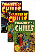 Golden Age (1938-1955):Horror, Chamber of Chills File Copy Group (Harvey, 1951-54) Condition:Average VG.... (Total: 12 Comic Books)