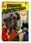 Golden Age (1938-1955):Science Fiction, Strange Adventures #8 (DC, 1951) Condition: VG....