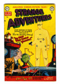 Golden Age (1938-1955):Horror, Strange Adventures #5 (DC, 1951) Condition: FN+....