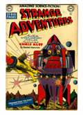 Golden Age (1938-1955):Science Fiction, Strange Adventures #3 (DC, 1950) Condition: FN....