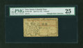 Colonial Notes:New Jersey, New Jersey April 12, 1757 £6 Green Back PMG Very Fine 25....