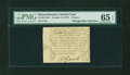 Colonial Notes:Massachusetts, Massachusetts October 16, 1778 8d PMG Gem Uncirculated 65 EPQ....