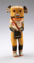 American Indian Art:Kachina Dolls, A HOPI COTTONWOOD KACHINA DOLL. c. 1925...