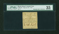 Colonial Notes:Rhode Island, Rhode Island May 22, 1777 $1/3 PMG Choice Very Fine 35....
