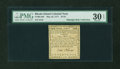 Colonial Notes:Rhode Island, Rhode Island May 22, 1777 $1/24 PMG Very Fine 30 EPQ....