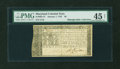 Colonial Notes:Maryland, Maryland January 1, 1767 $6 PMG Choice Extremely Fine 45 NET....