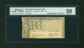 Colonial Notes:Maryland, Maryland January 1, 1767 $8 PMG Very Fine 30....