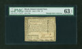 Colonial Notes:Rhode Island, Rhode Island July 2, 1780 $1 PMG Choice Uncirculated 63 EPQ....