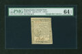 Colonial Notes:Pennsylvania, Pennsylvania April 10, 1777 4d PMG Choice Uncirculated 64 EPQ....