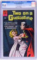 Silver Age (1956-1969):Horror, Movie Classics: Two On a Guillotine - File Copy (Dell, 1965) CGCNM+ 9.6 Off-white to white pages....