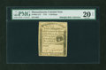 Colonial Notes:Massachusetts, Massachusetts 1779 5s PMG Very Fine 20 NET....
