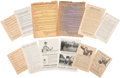 Political:Small Paper (1896-present), Woman's Suffrage: Suffrage Leaflets.... (Total: 16 Items)