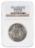 Explorers:Space Exploration, Skylab 1 (SL-2) NGC-Encapsulated MS63 Unflown Silver RobbinsMedallion Directly from the Personal Collection of Mission Pilot...