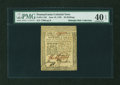 Colonial Notes:Pennsylvania, Pennsylvania June 18, 1764 20s PMG Extremely Fine 40 EPQ....