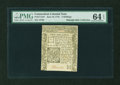 Colonial Notes:Connecticut, Connecticut June 19, 1776 2s PMG Choice Uncirculated 64 EPQ....