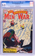 Silver Age (1956-1969):War, All-American Men of War #85 (DC, 1961) CGC FN- 5.5 Off-white to white pages....